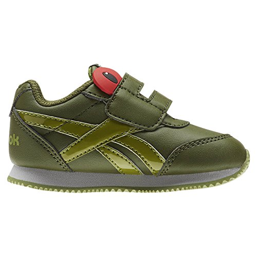 Reebok Royal Cljog 2 Kc, Chaussures de Trail Mixte Enfant, Vert (Tree Frog/Wild Green/Bright Moss/Skull G 000), 25 EU