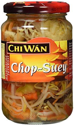 Chi Wán Chop Suey - Gemüsemix Glas, 4er Pack (4 x 350 g)