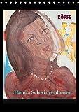 Köpfe 2018 Hanna Schwingenheuer (Tischkalender 2018 DIN A5 hoch): Acrylbilder der Düsseldorfer Künstlerin Hanna Schwingenheuer aus dem fortlaufenden ... [Apr 01, 2017] Schwingenheuer, Hanna