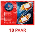 The HEAT company Handwärmer - NEU EXTRA WARM - Wärmekissen 12 Std. Wärmedauer 10 Paar