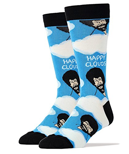 bob-ross-happy-clouds-mens-crew-socks