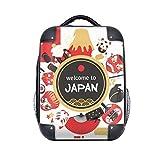 """DIYthinker Benvenuto Per Caso Sushi Disco Giappone Giapponese Stile tracolla zaino regalo dei bambini 15"""""""
