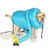 DJLOOKK Soffiatore per Cani, Borsa per l'asciugatura degli Animali, per asciugare Rapidamente e...