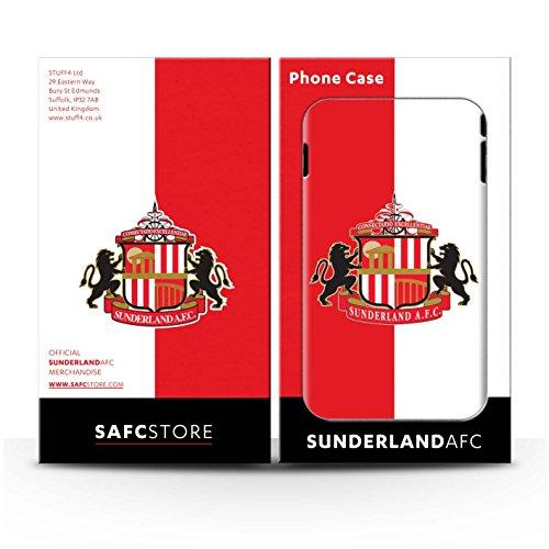 Offiziell Sunderland AFC Hülle / Matte Snap-On Case für Apple iPhone 7 / Pack 6pcs Muster / SAFC Fußball Crest Kollektion Rot/Weiß