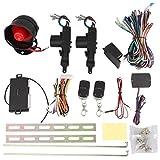2Puerta Keyless Entry Central bloqueo + Control Remoto de alarma de coche de alta calidad con 12V...