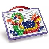 Quercetti 13/0923 - Estuche para crear mosaicos (100 clavos)