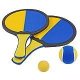 HUDORA Beachball / Klettballspiel für 2 Spieler Beachball Klettball Strand Spiel Catchball Fangspiel