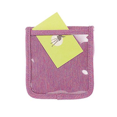 Lässig Mini Neck Pouch About Friends melange Umhängetasche, 13 cm, Pink