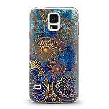 Casetic | Handyhülle für Samsung Galaxy S5 Mini Oriental Schutzhülle Cover Schutz Hülle Schale Case Motiv