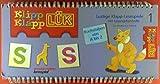 Klipp Klapp LÜK. Lustige Klapp-Lesespiele mit Lösungskontrolle für Kinder von 3 bis 6. Buchstaben von A bis Z.