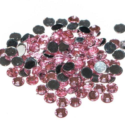 pack-of-1000-x-light-pink-crystal-flat-back-rhinestone-diamante-gems-2mm