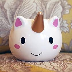 3D Tazas Unicornio Tazas de café Coffee Tea White Mugs Cup tazas 520ml (Colour1)