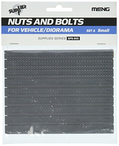 Meng Model 1:35 - Nuts and Bolts Set A (Small)