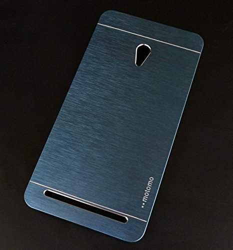 Brushed Aluminum+PC Hard case Luxury Metal Back Cover case for ASUS Zenfone 5 - Blue  available at amazon for Rs.149