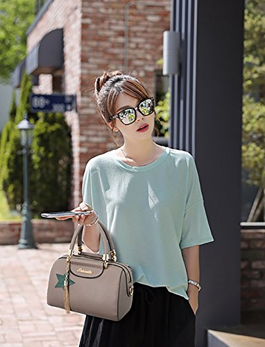 CLOTHES- Trend di modo delle borse degli uomini della borsa del sacchetto del sacchetto del sacchetto del sacchetto del messaggero delle donne europee ed americane Sacchetto delle signore della borsa  Cachi