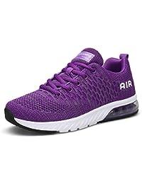 Scarpe da Corsa su Strada Donna Sneaker Uomo Running Sportive Unisex  Interior Casual Scarpe Fitness Outdoor aa7c9c0f9b7