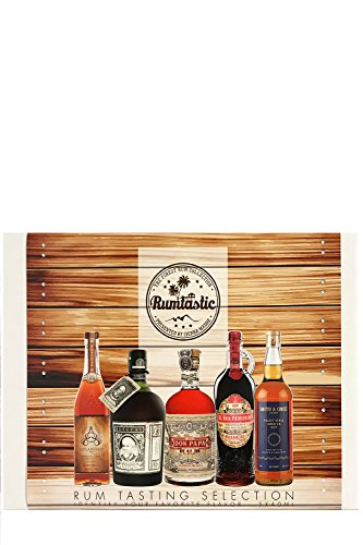 Rumtastic Rum Tasting Selection (5 x 0.04l)