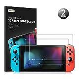 Nintendo Switch Display Schutzfolie - Younik 0,25 mm/9H Premium gehärtetes Glas Displayschutz für Nintendo Switch(2 Packungen) -