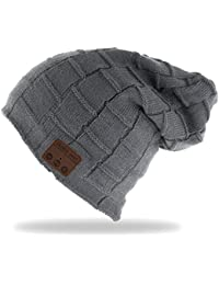 7ebafd0d25794 ULTRICS® Bluetooth Headset Hat - Wireless Bluetooth Music Beanie Hat with  Stereo Speaker Headphones