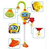 XISHU Baby Bad Dusche Spielzeug, Taucher Spray Toys Spray Station Badewanne Spielzeug - KEINE Batterien Keine Stromversorgung Wasserhahn Spielzeug , picture color
