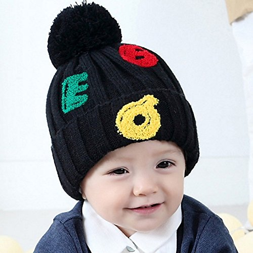 24% OFF on Generic Gray   newborn baby photography props Cute Baby Kids  Girl Boy letters Warm Autumn Winter Knitted Cap Hat baby bonnet kids hat  for 1-4T on ... 8d82f3d5914c