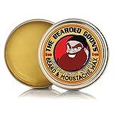 The Bearded Goon's RIDICULOUSLY STRONG Beard & Handlebar Moustache Wax - 1oz (30ml) Strongest Hold for Mustache, Beards, and Facial Hair