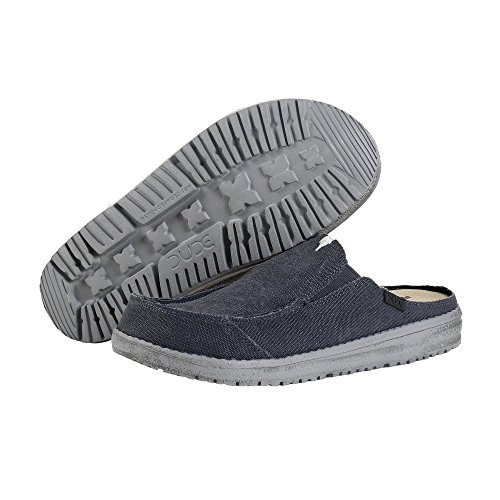 Dude Shoes Herren Martin Oceano Slip-On Blau