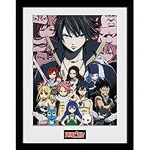 GB eye Fairy Tail, temporada 4clave arte, enmarcado impresión 30x 40cm, varios