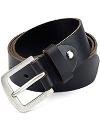 Jeans Anzug Gürtel Echt Büffel Ledergürtel 100% Echtleder Buckle Schnalle 21433