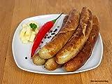 Bratwurst mit Chili & Käse 5 x 90g - Rostbratwurst / Grillwurst ideal für Grill und Pfanne - Original westfälisch Ringhoff
