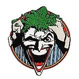 Joker Asylum Inmate Batman Arkham Villain DC Comics Iron-On Applique Patch ÉcussonPatch en fer brodé sur accessoire Souvenir Applique