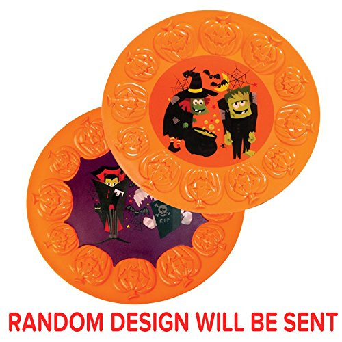 Halloween Oval Party Kürbis Servierplatte Serviertablett Spooky Mitte Bild Creepy Design Home House Party Dekoration