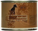 Dogz finefood Hundefutter No.8 Pute & Ziege 200g, 6er Pack (6 x 200 g)