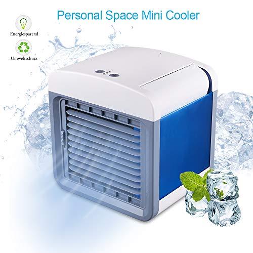 STLOVE Ventilador Acondicionado Móvil 3 velocidades