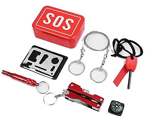 SaySure - Emergency Equipment SOS Kit Car Earthquake Emergency