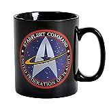 Star Trek - Keramik Tasse Riesentasse 460 ml - Starfleet Command - United Federation Of Planets - Geschenkbox