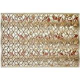 Alfombra dibujo moderno diseño geométrico – Alfombra salón y dormitorio de cama alfombra Sitap Venus 202z-q16