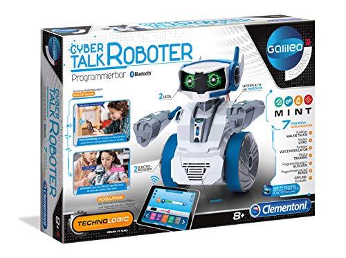 Clementoni 59142 Cyber Talk Roboter, Mehrfarben