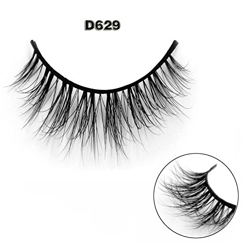 45 Modell 3D 100% Handgefertigte Künstliche Wimpern Dickes Augen Lashes Falsche Wimpern D629