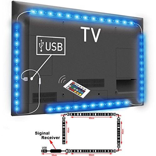top-max-5050-waterproof-led-strip-5v-colour-changing-rgb-rf-remote-lighting-usb-tv-pc-back-mood-ligh