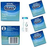 Durex 12 x Regular Kondome (4x 3Stück) + 1x Pasante steriles Gleitmittel 5ml preisvergleich bei billige-tabletten.eu