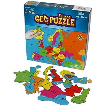Geo Puzzle Europe 58 pièces