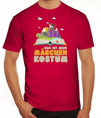 Fasching Karneval Herren T-Shirt mit Das ist mein Märchen Kostüm Motiv von ShirtStreet Sorbet