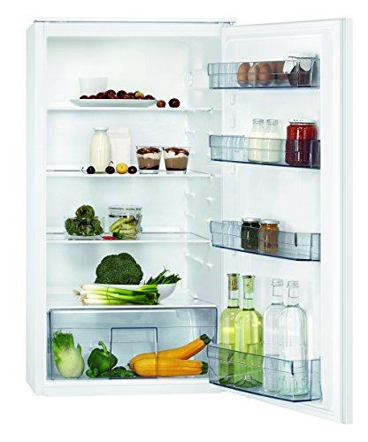 AEG SKB41011AS Kühlschrank / integrierbarer Kühlschrank ohne Gefrierfach / großer 181 l Kühlraum / Einbaukühlschrank mit LED-Beleuchtung / vollautomatisches Abtauen / A+ / H: 103 cm / weiß