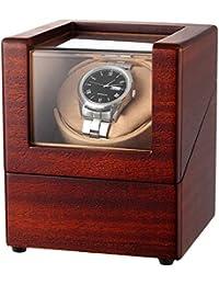 CHIYODA Cargador para Relojes Automáticos, Cajas giratorias con Motor silencioso, Alimentado por batería o