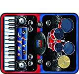 Comdaq 2-in-1 Musical Jam Playmat, Musical Toy for Kids Above 3 Years (Multi-Color)