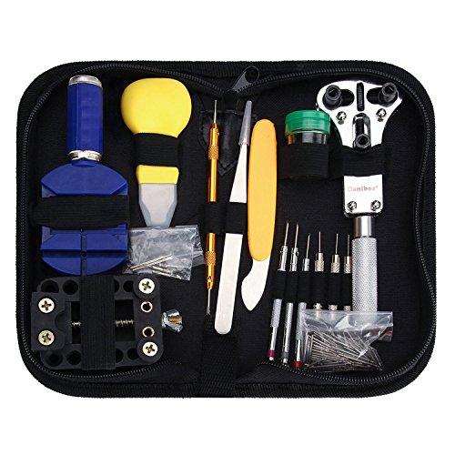 uhrenwerkzeugset-danibos-162-pcs-uhrmacherwerkzeug-uhr-werkzeug-tasche-armbanduhr-reparatur-tool-geh