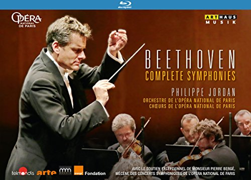 Beethoven: Sämtliche Sinfonien [Philippe Jordan, Paris] [Blu-ray] [3 DVDs]