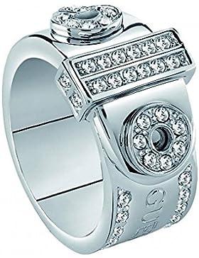 Guess Damen-Ring ABSOLUTE Kristall weiß Gr. 54 (17.2)-UBR28514-54