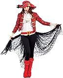 Chiber - Freibeuter Piratenkostüm für Damen (L - Large)